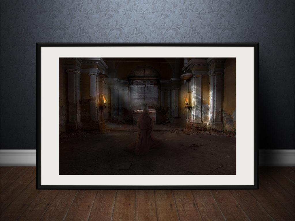 Fotomanipulace | Mnich