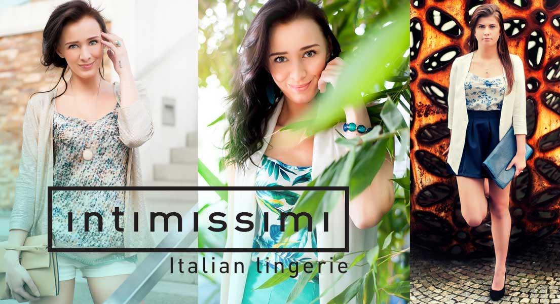 Fotografování pro soutěž pořádanou společností Intimissimi