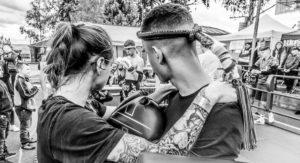Exhibice v thajském boxu na Slezské noci