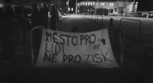 Fotoreportáž z návštěvy aktivistů Food not Bombs Ostrava v Českém Těšíně