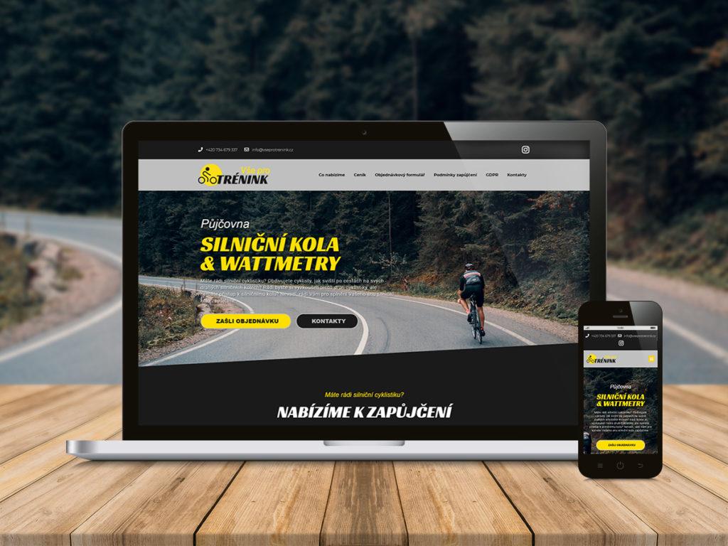 Webdesign | WordPress | Vseprotrenink